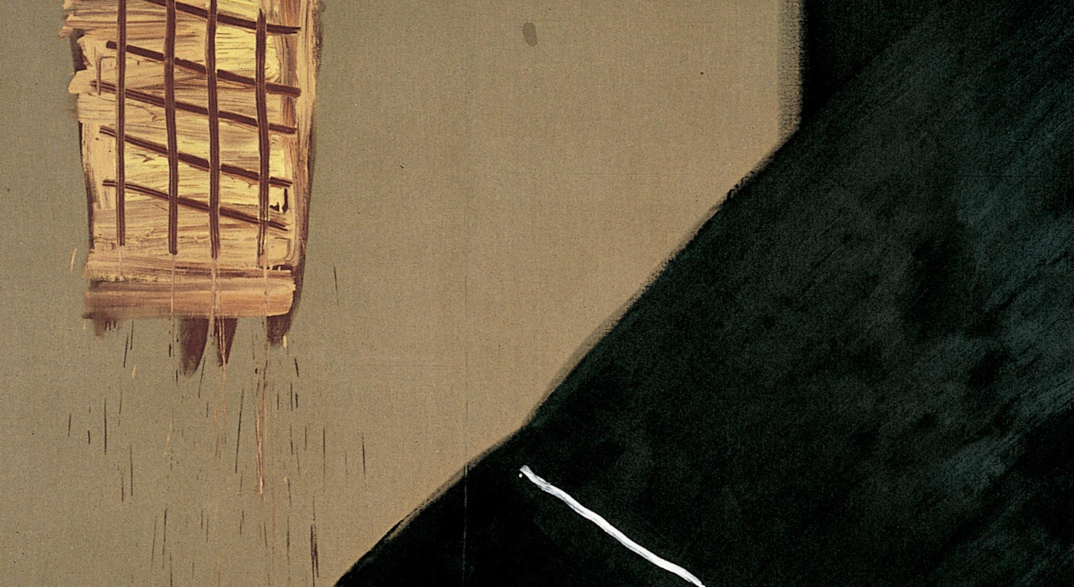 Detail of Basil Beattie, Imagine If, 1993