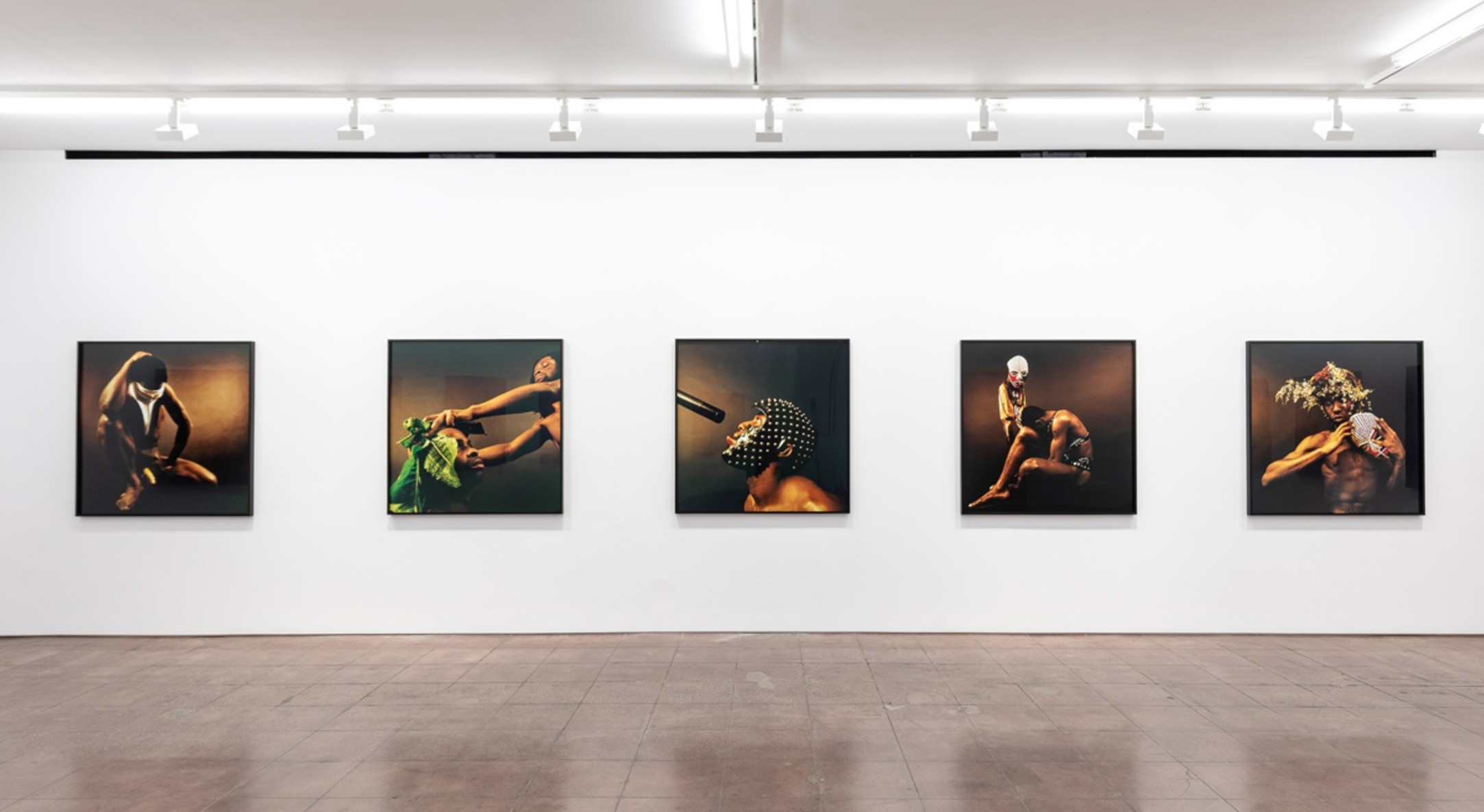 Installation view of Rotimi Fani Kayode, Tranquility of Communion, Hales New York