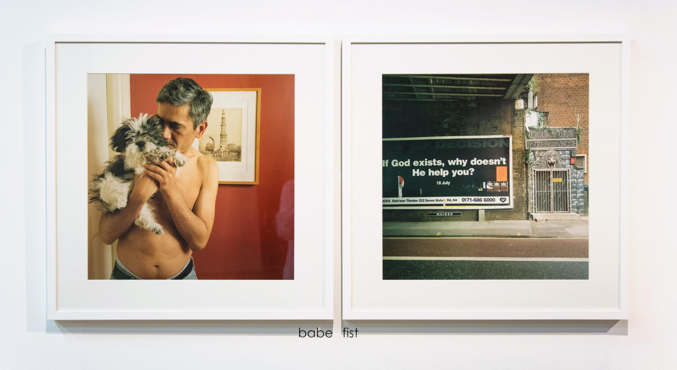 Sunil Gupta, Babe / Fist, 1999 / 2015