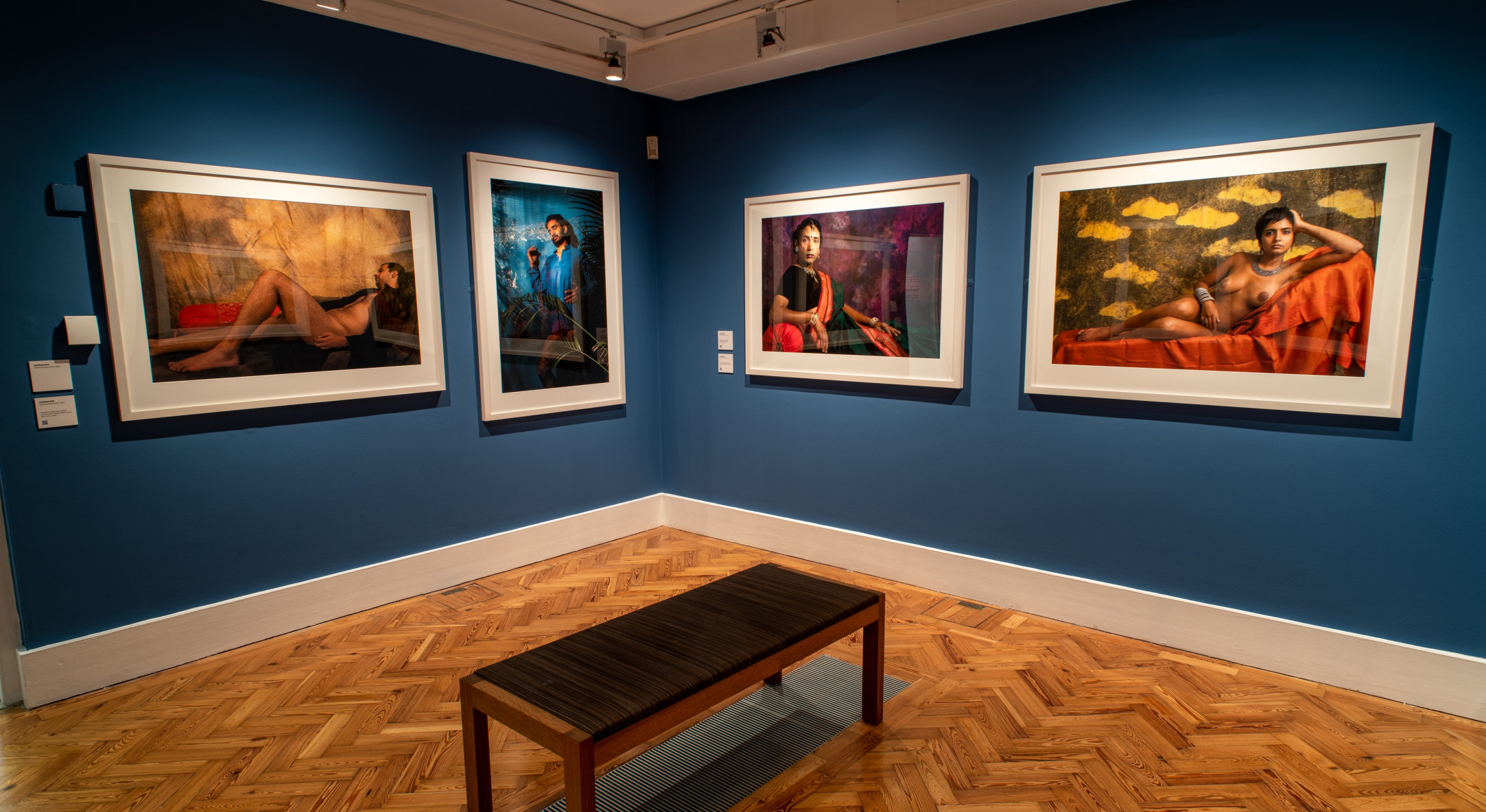 Sunil Gupta, The New Pre-Raphaelites, The Holburne Museum, 24 September 2021 – 19 January 2022. Photo by Peter Stone © Holburne Museum