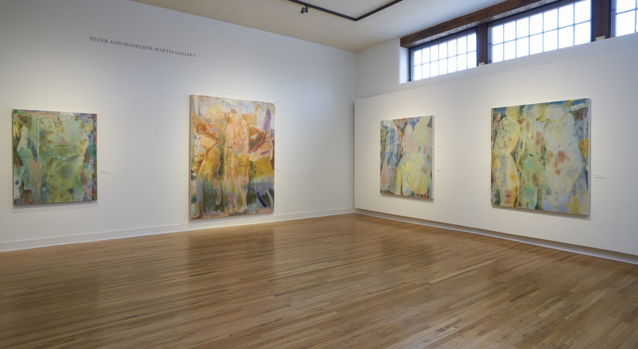 Installation view of Maja Ruznic, In the Sliver of the Sun, The Harwood Museum of Art