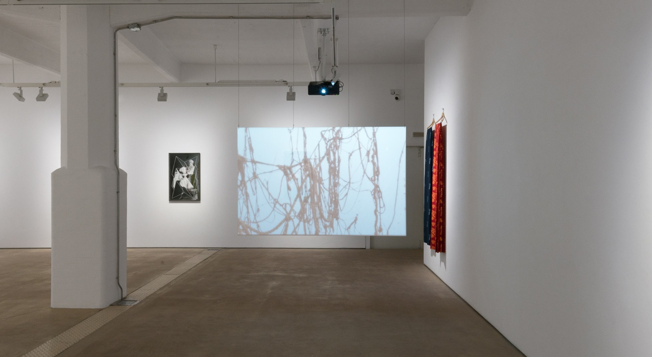 Installation view of Andrea Geyer, If I Told Her at Hales London