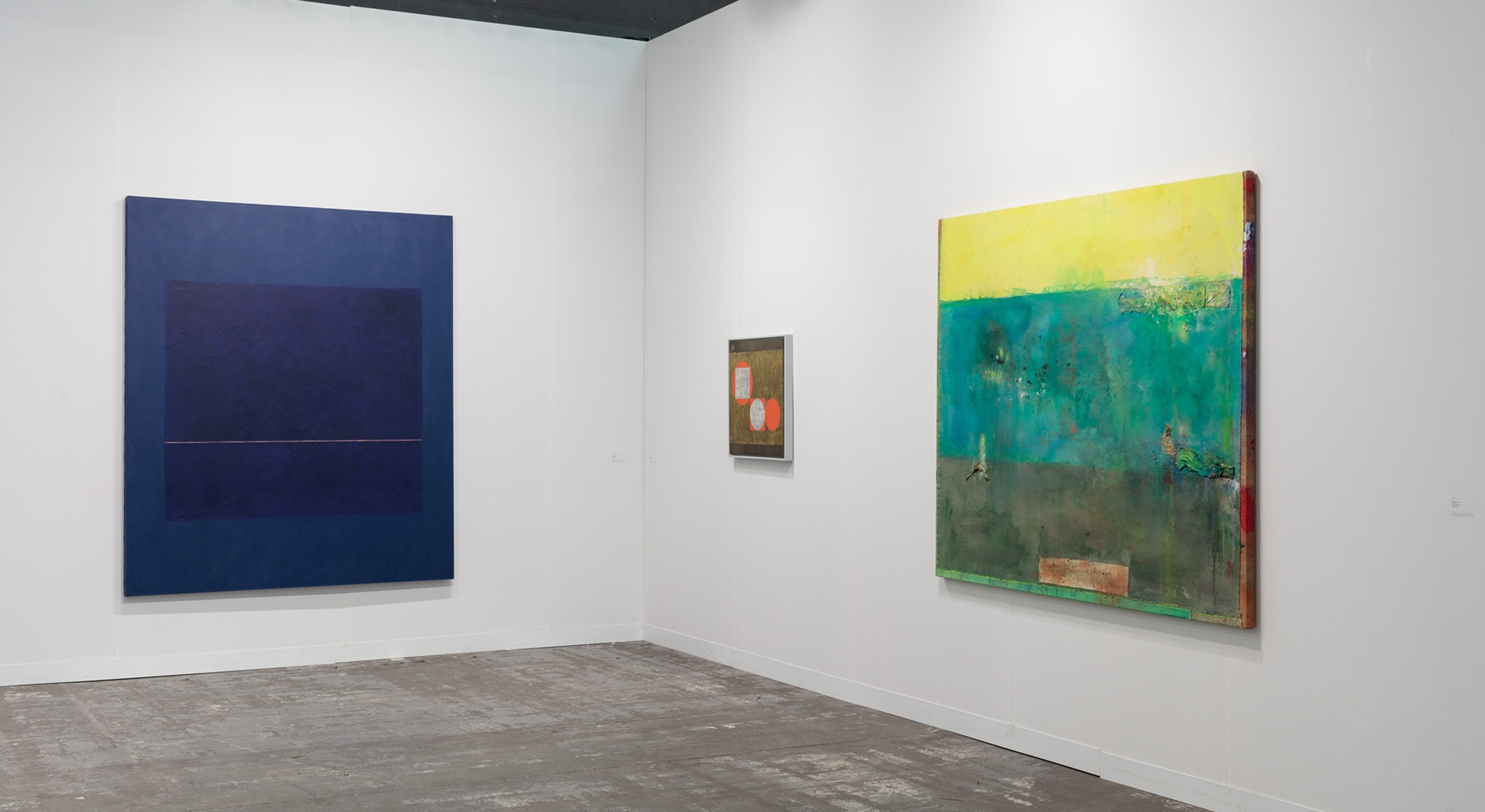 Installation view of Hales Gallery booth at The Armory Show 2018