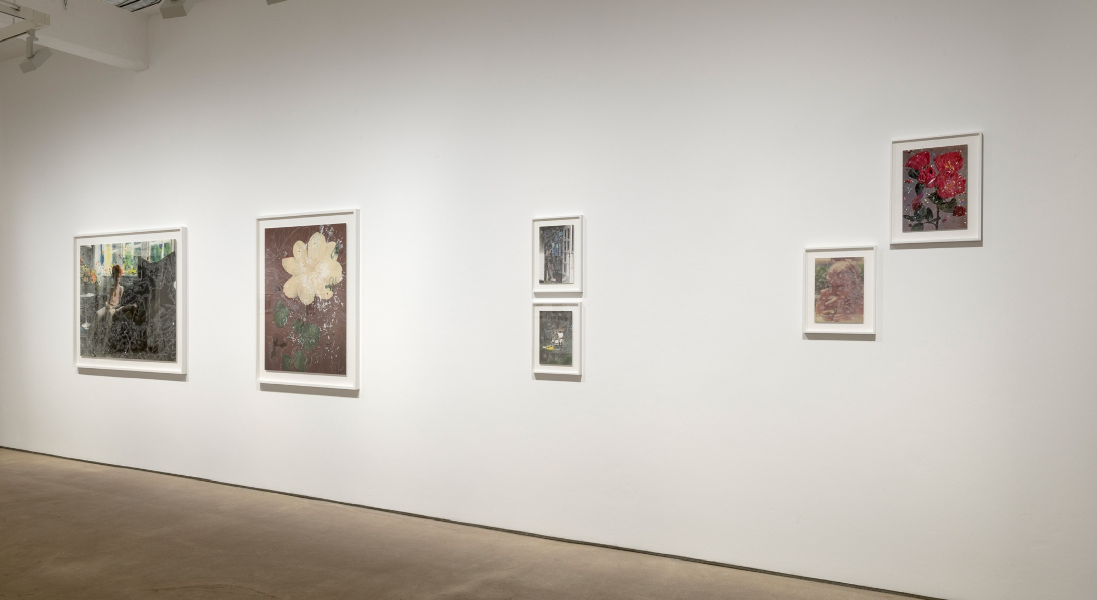 Installation view of Sebastiaan Bremer, Here Comes the Sun at Hales London