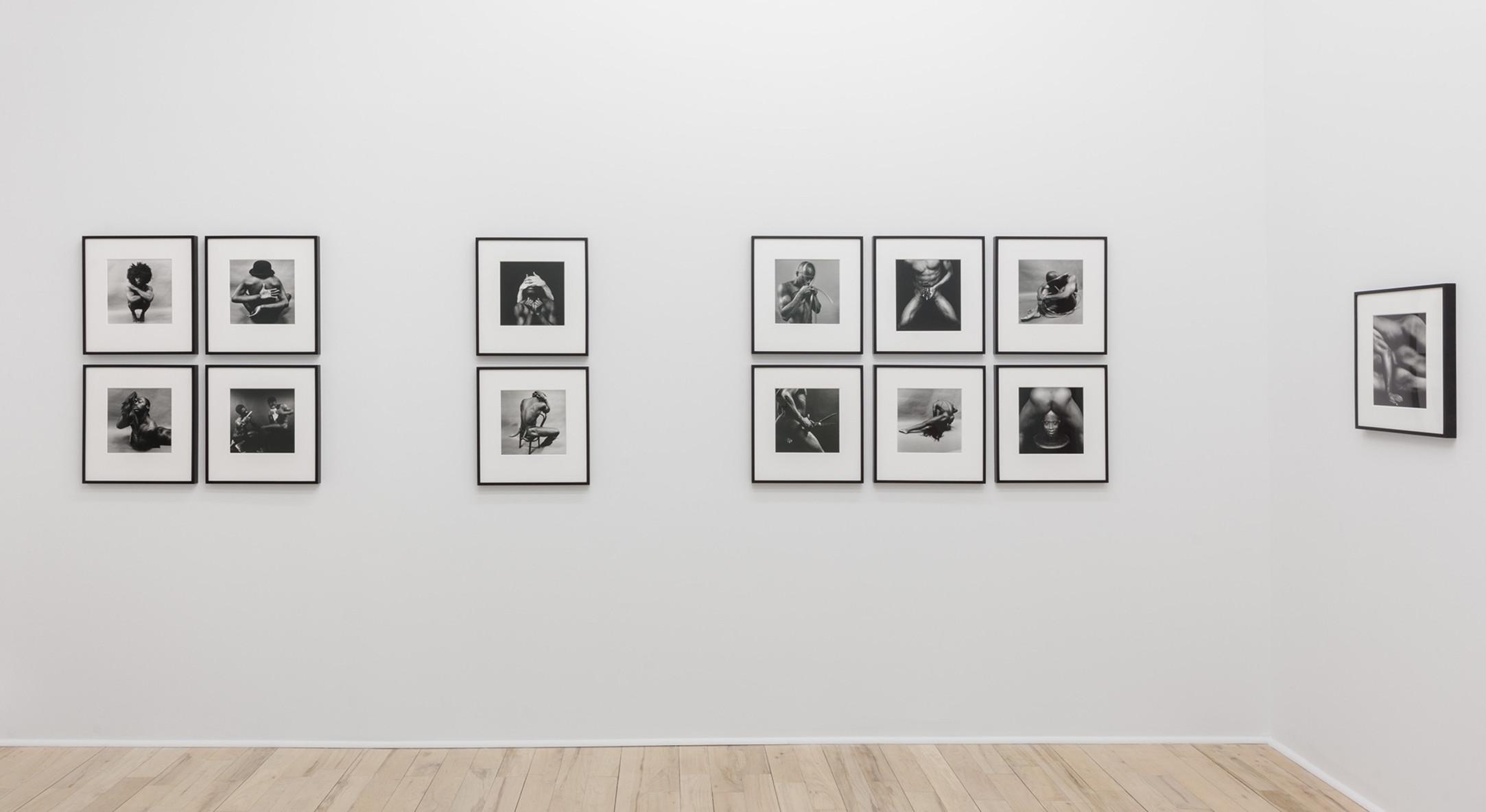 Installation view of Sunil Gupta, Christopher Street at Hales New York, 2019