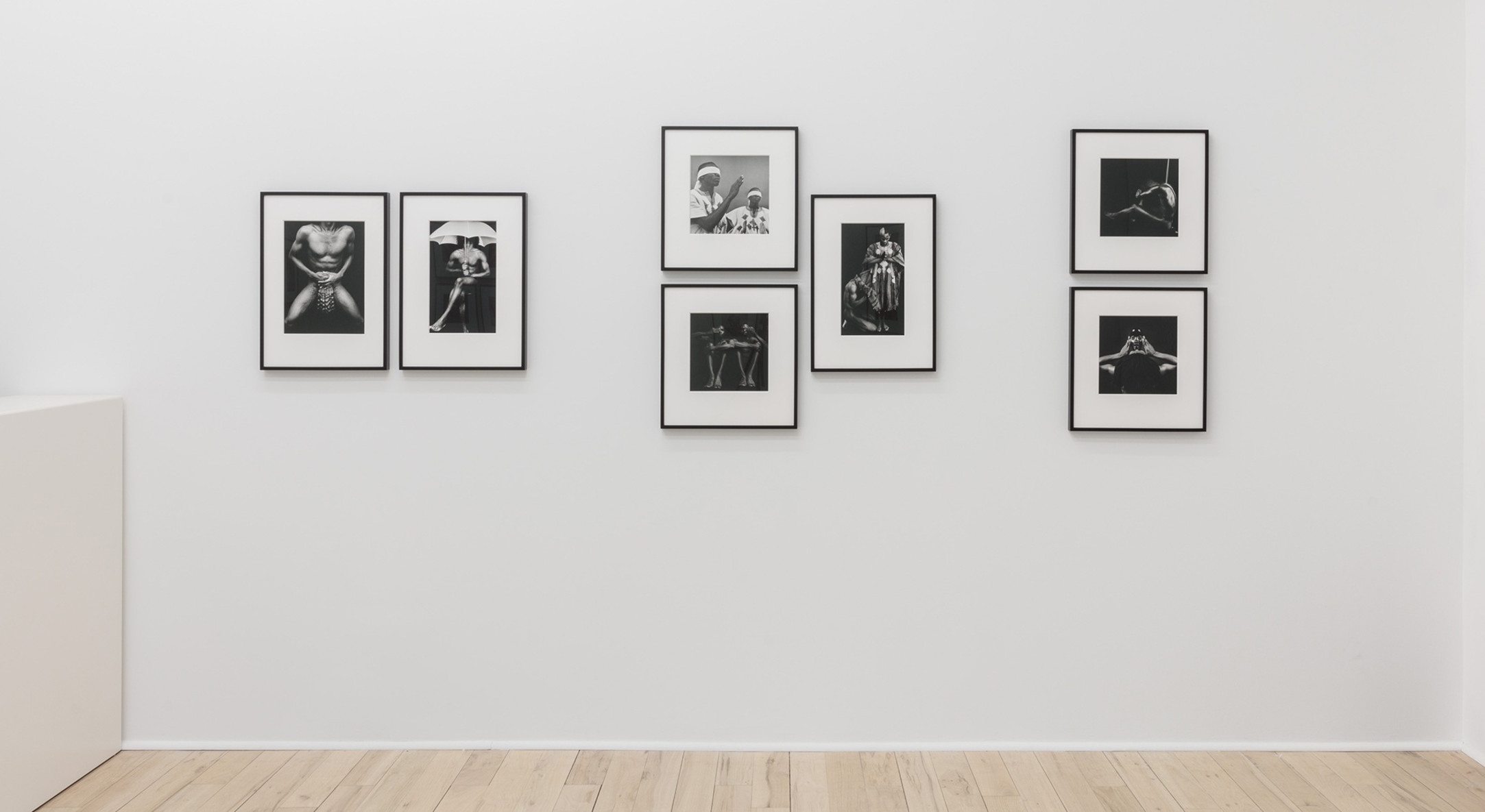 Installation view of Rotimi Fani-Kayode, Rage & Desire at Hales Gallery Project Room, New York, 2018