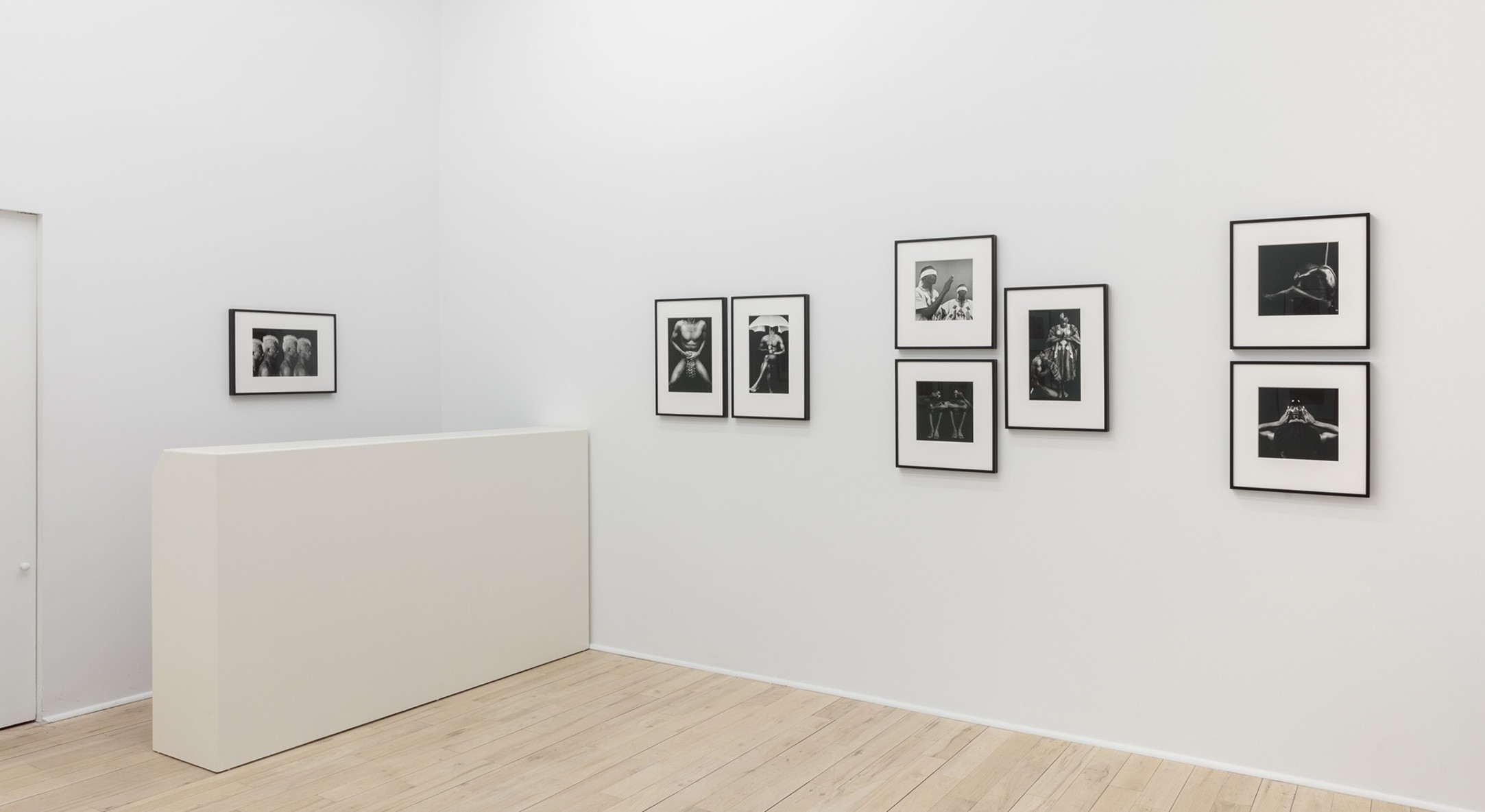 Installation view of Rotimi Fani-Kayode, Rage & Desire at Hales Project Room, New York, 2018