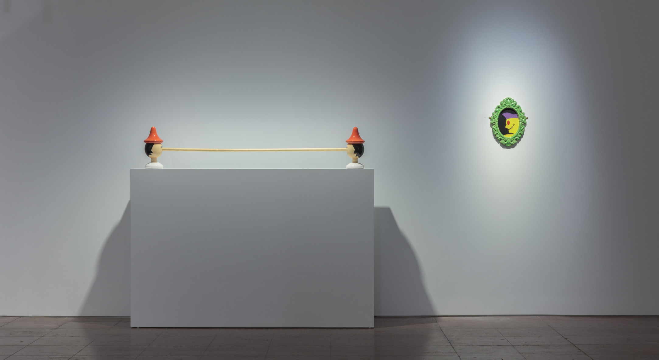 Installation view of Richard Slee, Perfect Pie, at Hales Gallery New York, 2019