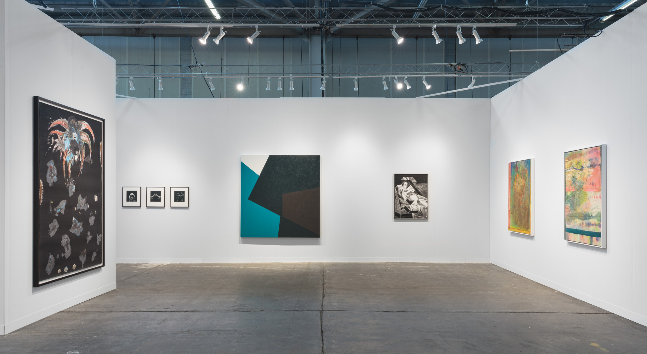 Installation view of Hales Gallery booth at The Armory Show 2019