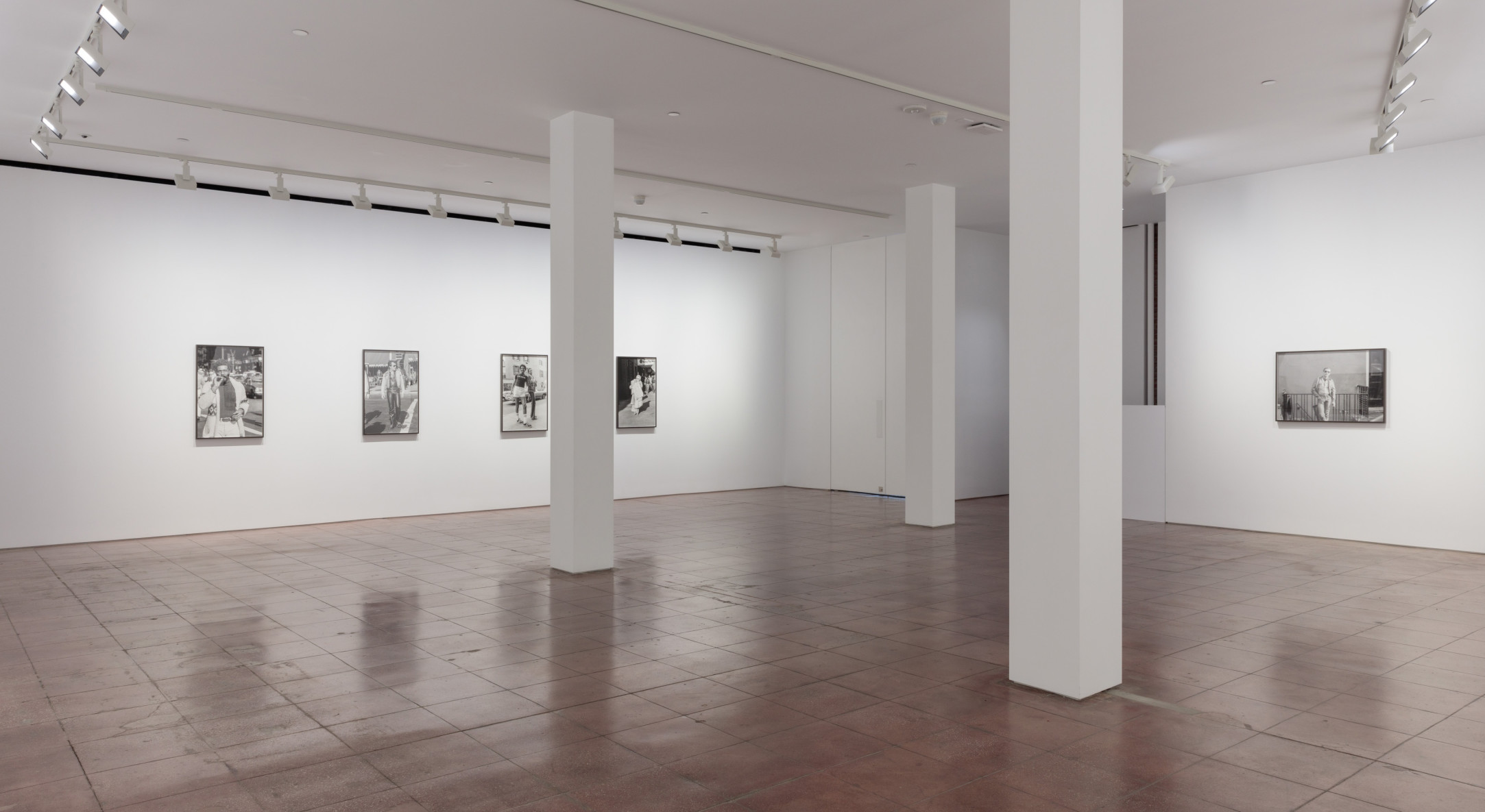 Installation view of Sunil Gupta, Christopher Street at Hales New York, 2019