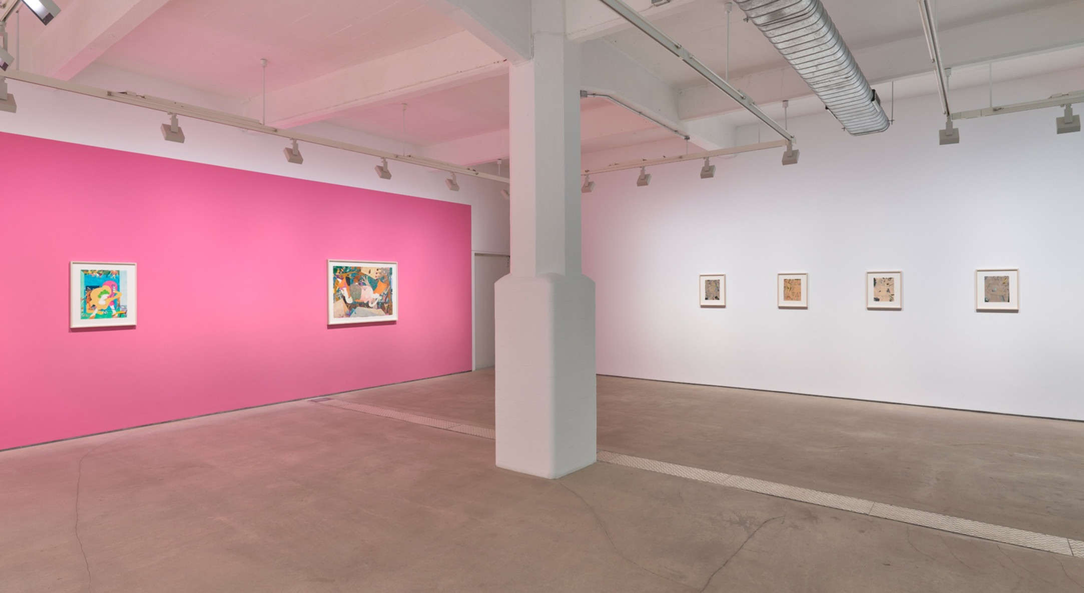 Installation view of Gladys Nilsson, Unencumbered, at Hales London