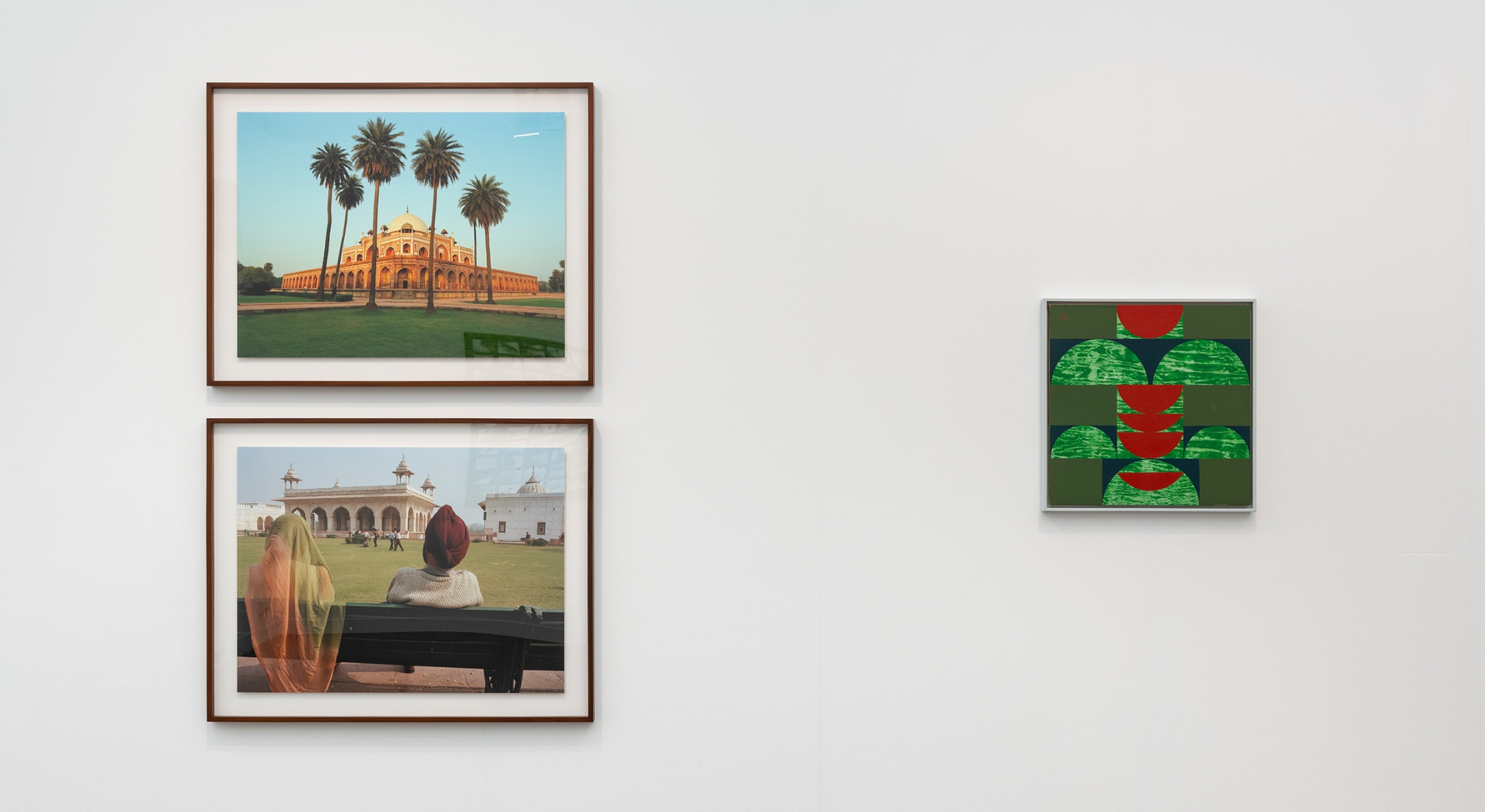 Installation view of Hales Gallery booth at Frieze London 2019