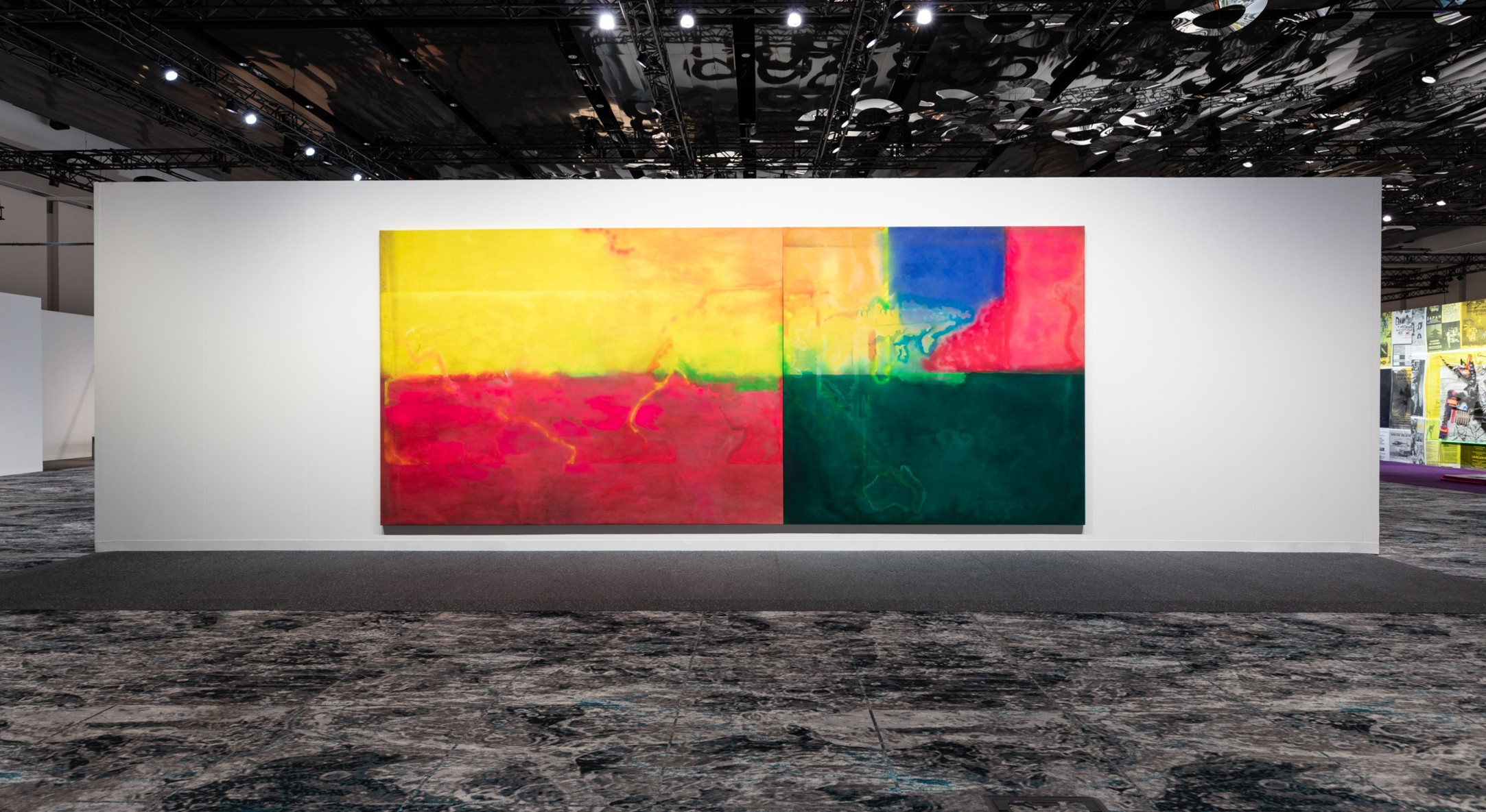 Installation view of Meridians: Frank in Hales Gallery booth at Art Basel Miami Beach 2019