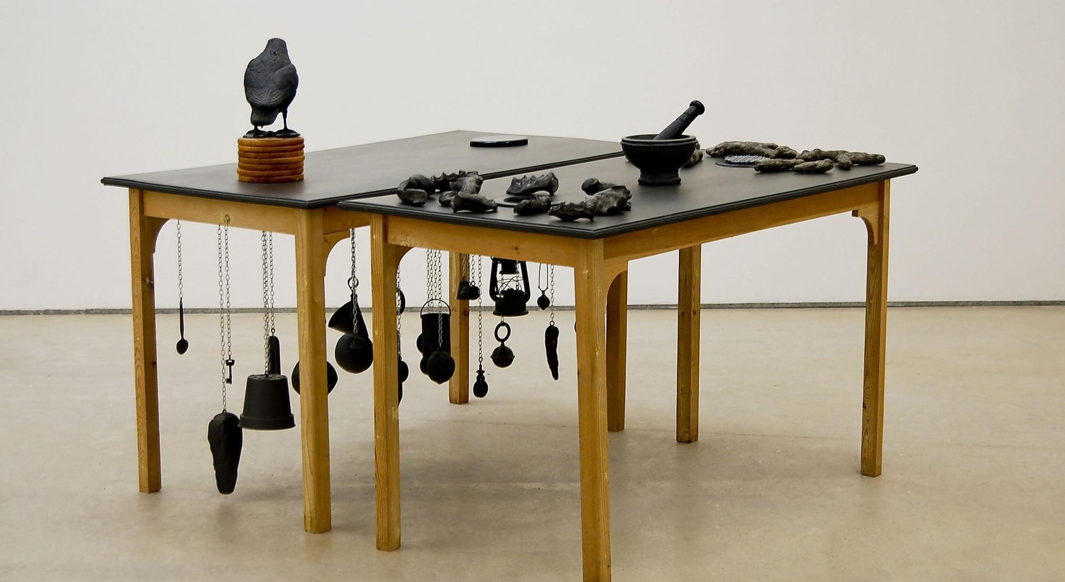 Carl Plackman, Decoy, 2000, Mixed media