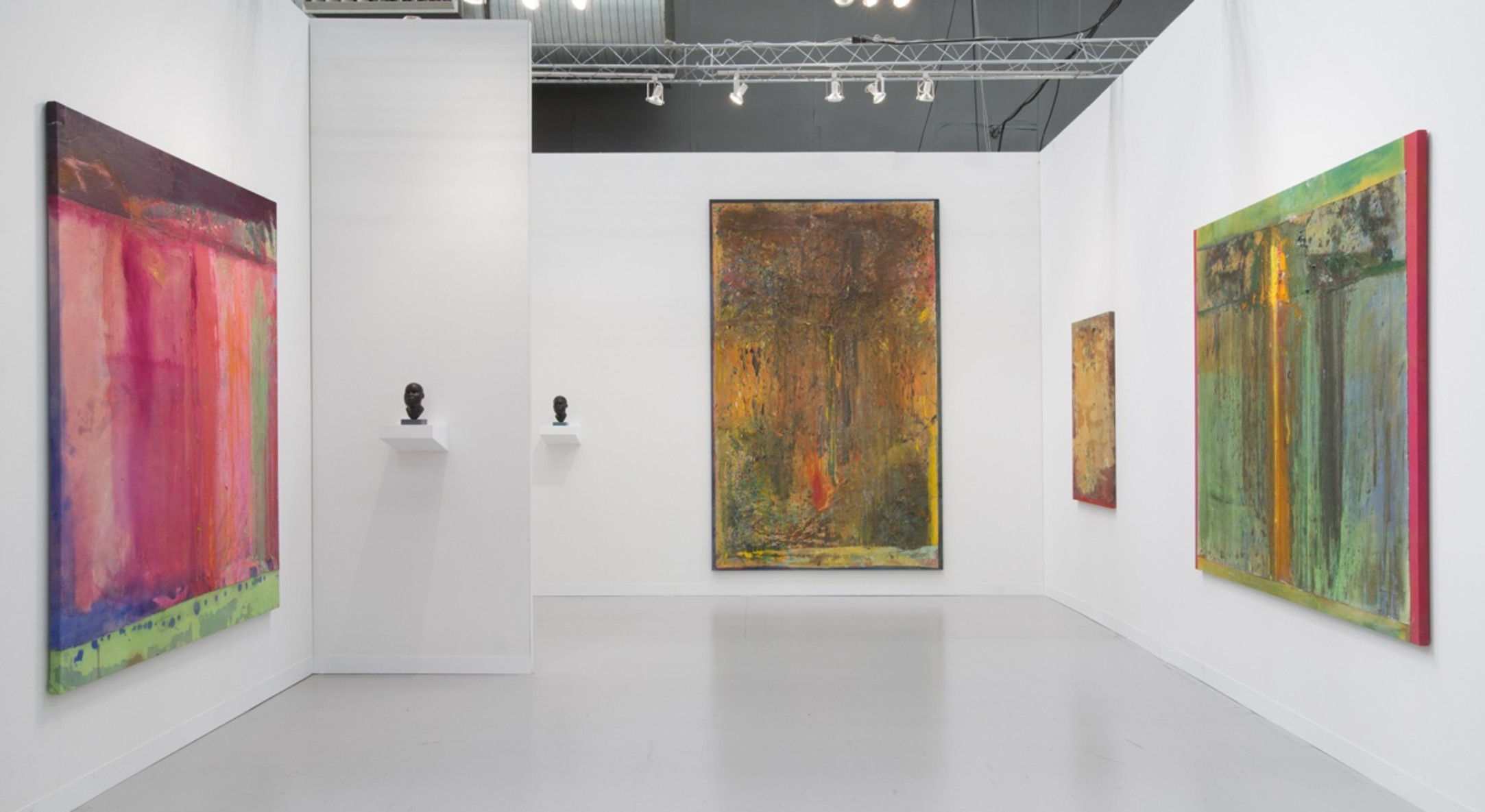 Installation view of Hales Gallery Armory Show NYC 2014