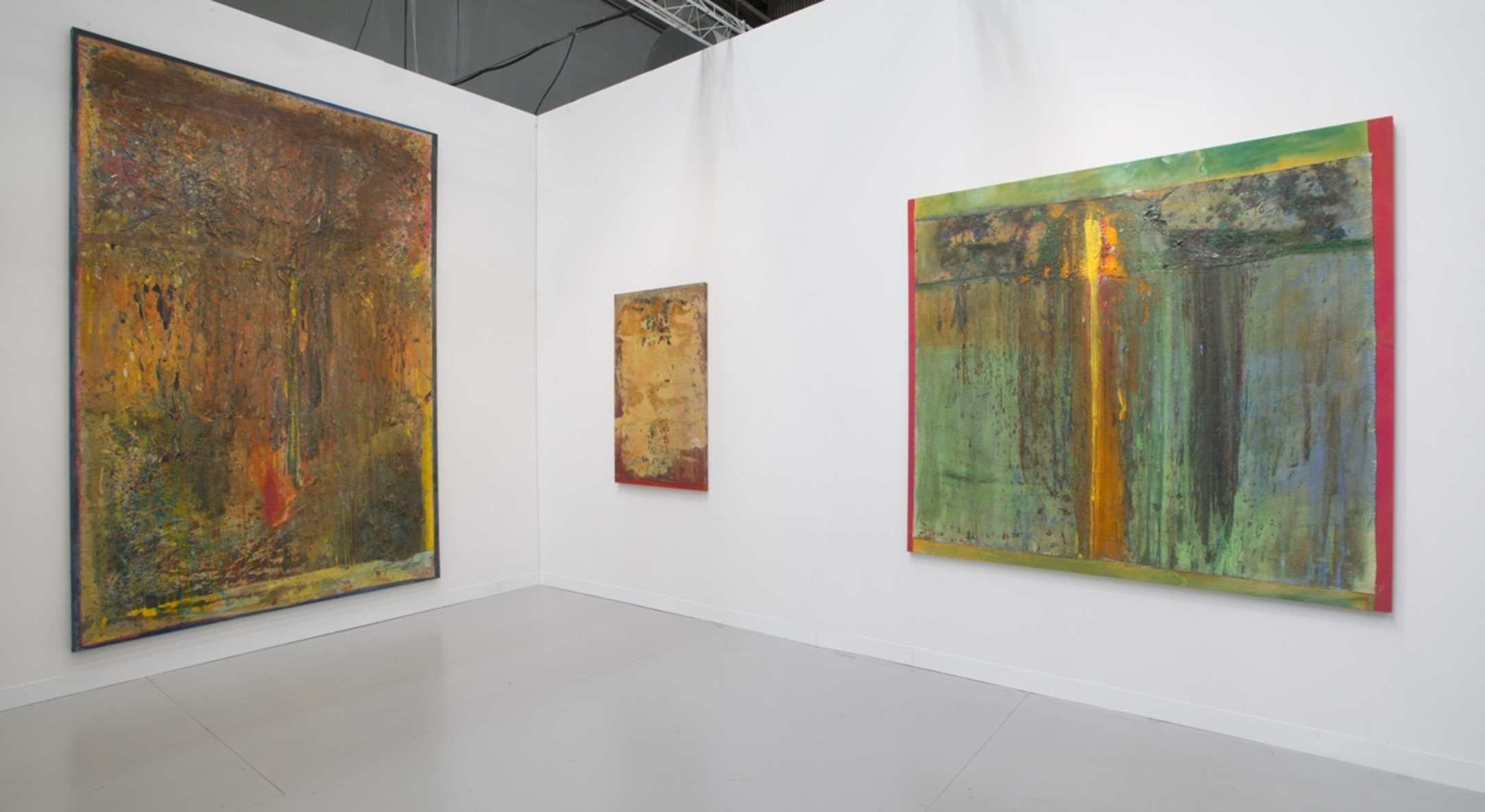 Installation view of Hales Gallery at the Armory Show NYC, 2014
