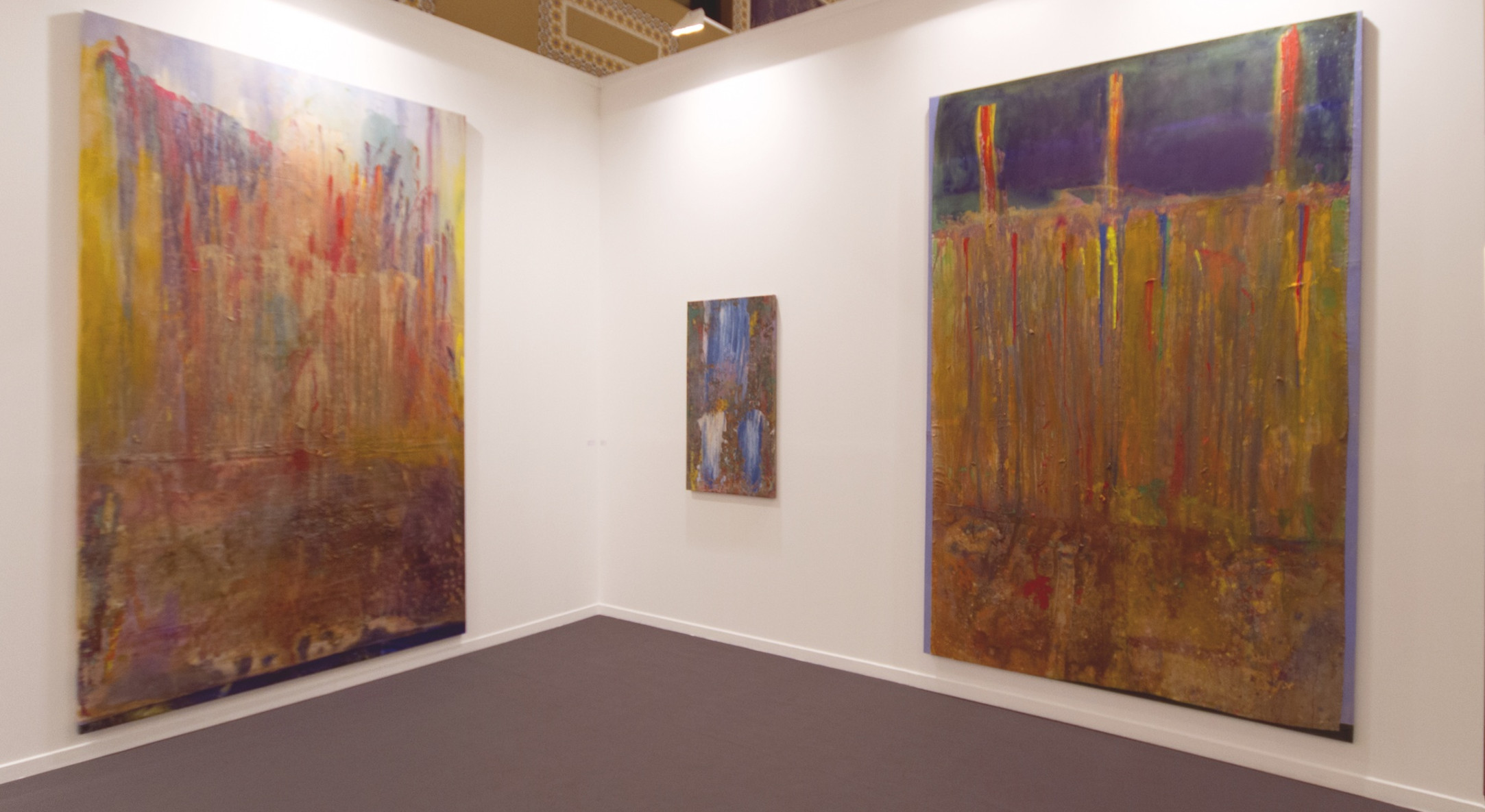 Installation view of Hales Gallery booth, Art Dubai 2014
