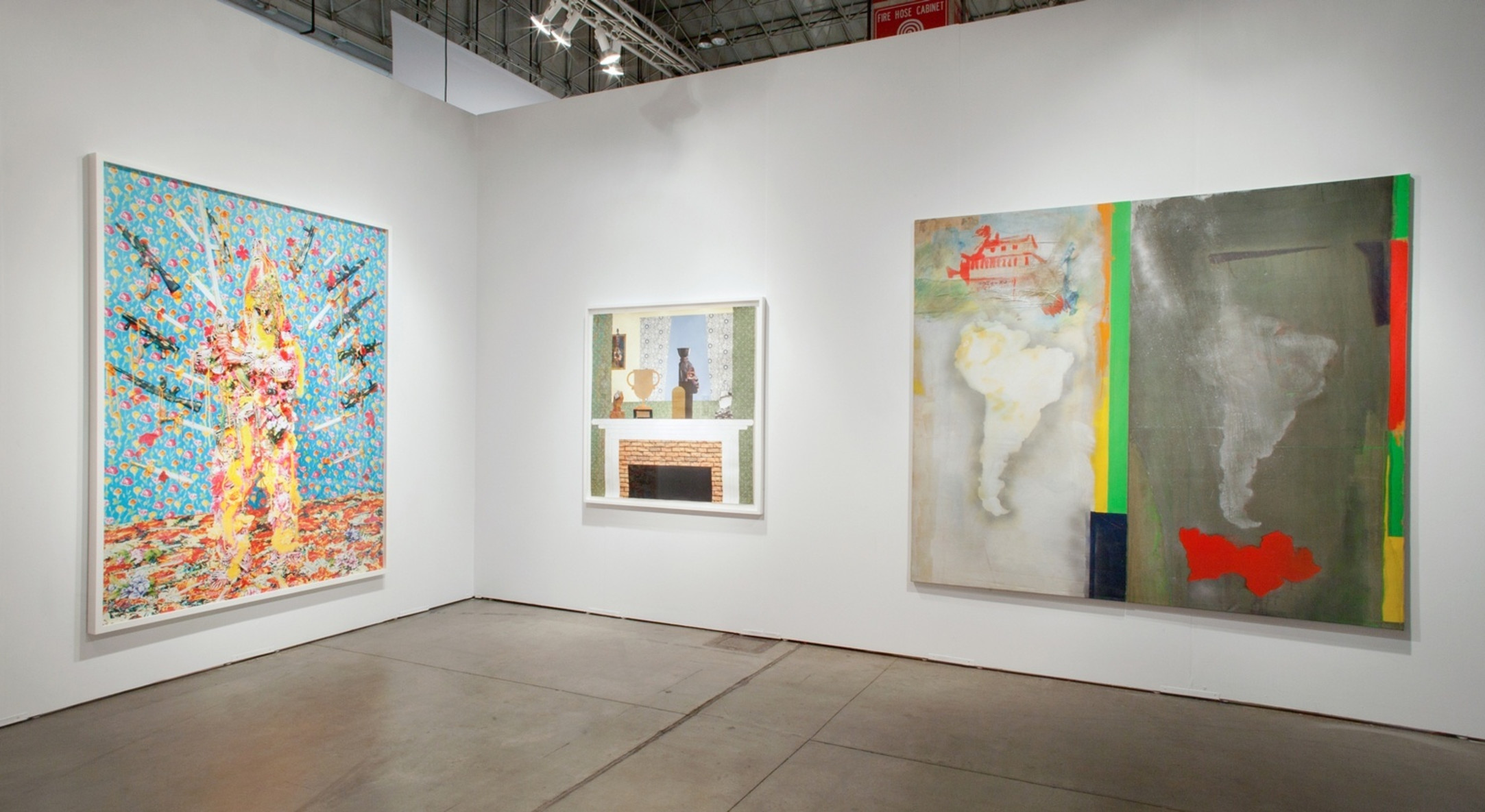 Installation view of Hales Gallery at EXPO Chicago 2014