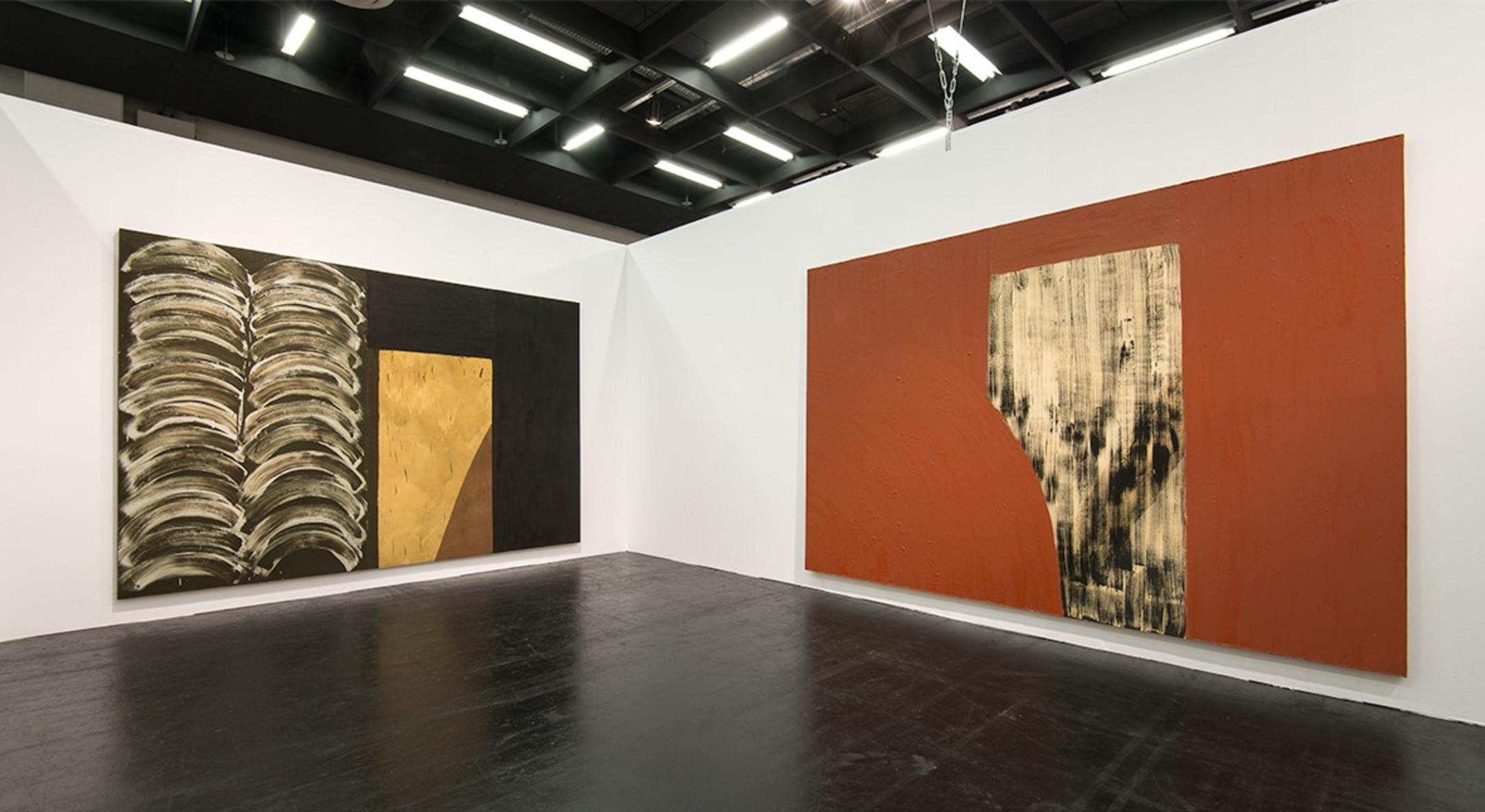 Installation view of Hales Gallery Booth, Art Cologne 2015