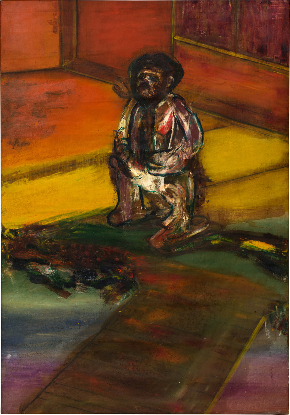 Frank Bowling, Beggar no. 6, 1963