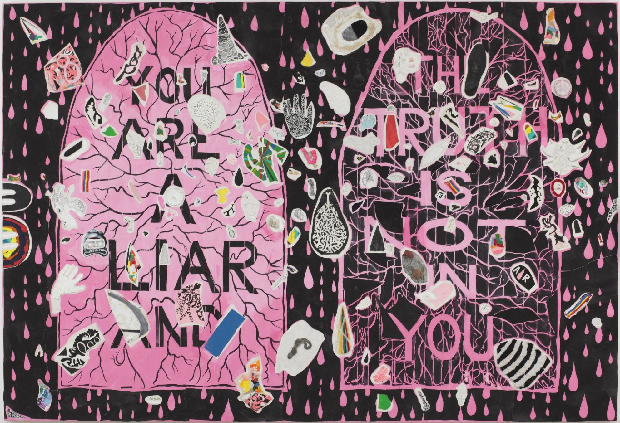 Trenton Doyle Hancock, You Are A Liar And The Truth Is NOT In You, 2010