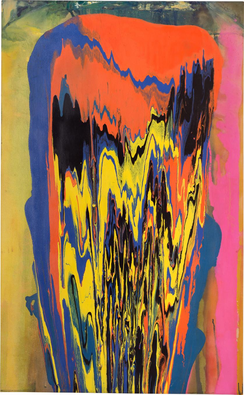Frank Bowling, Tony's Anvil, 1975