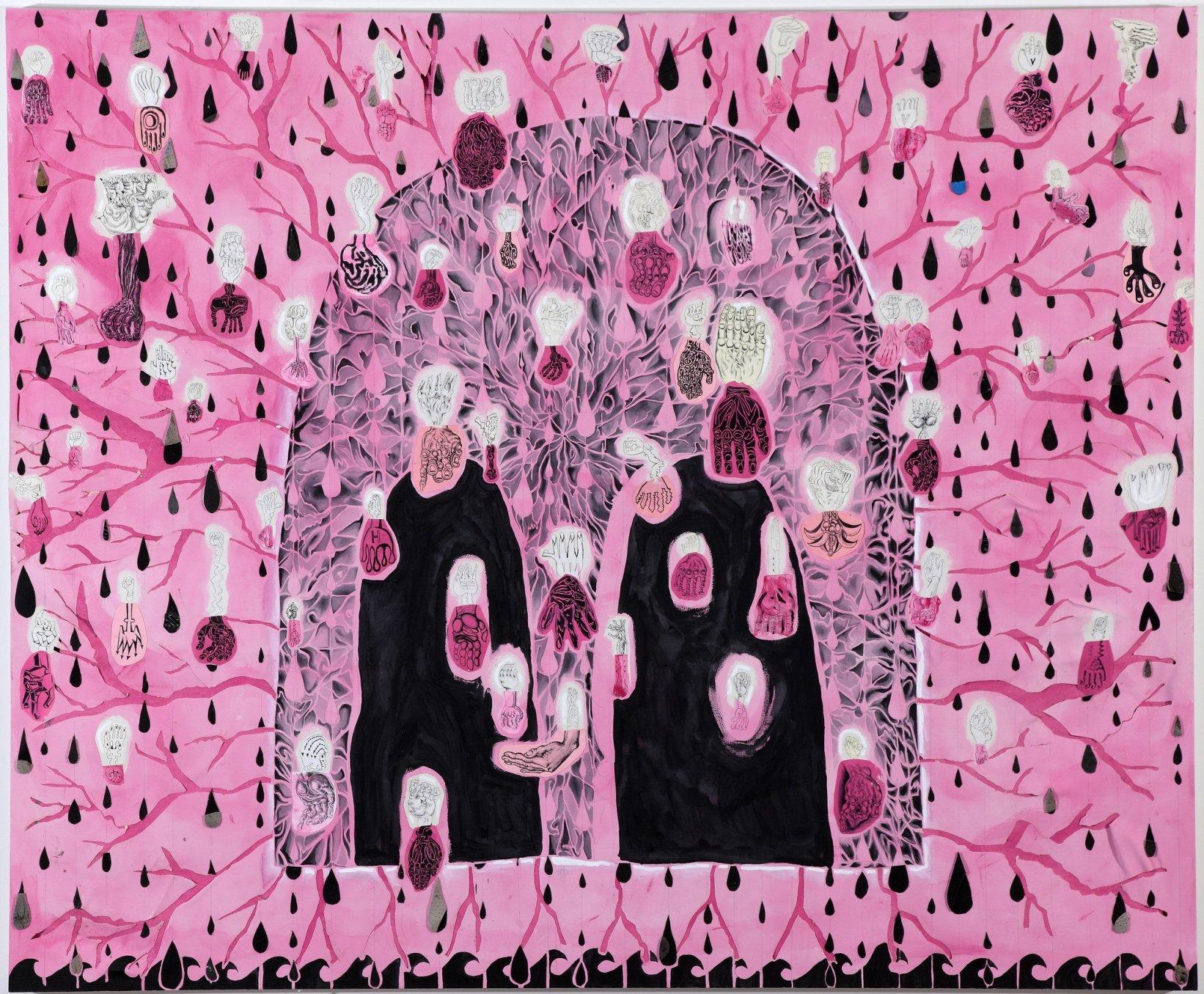 Trenton Doyle Hancock, Campbell's Streetlight, 2010