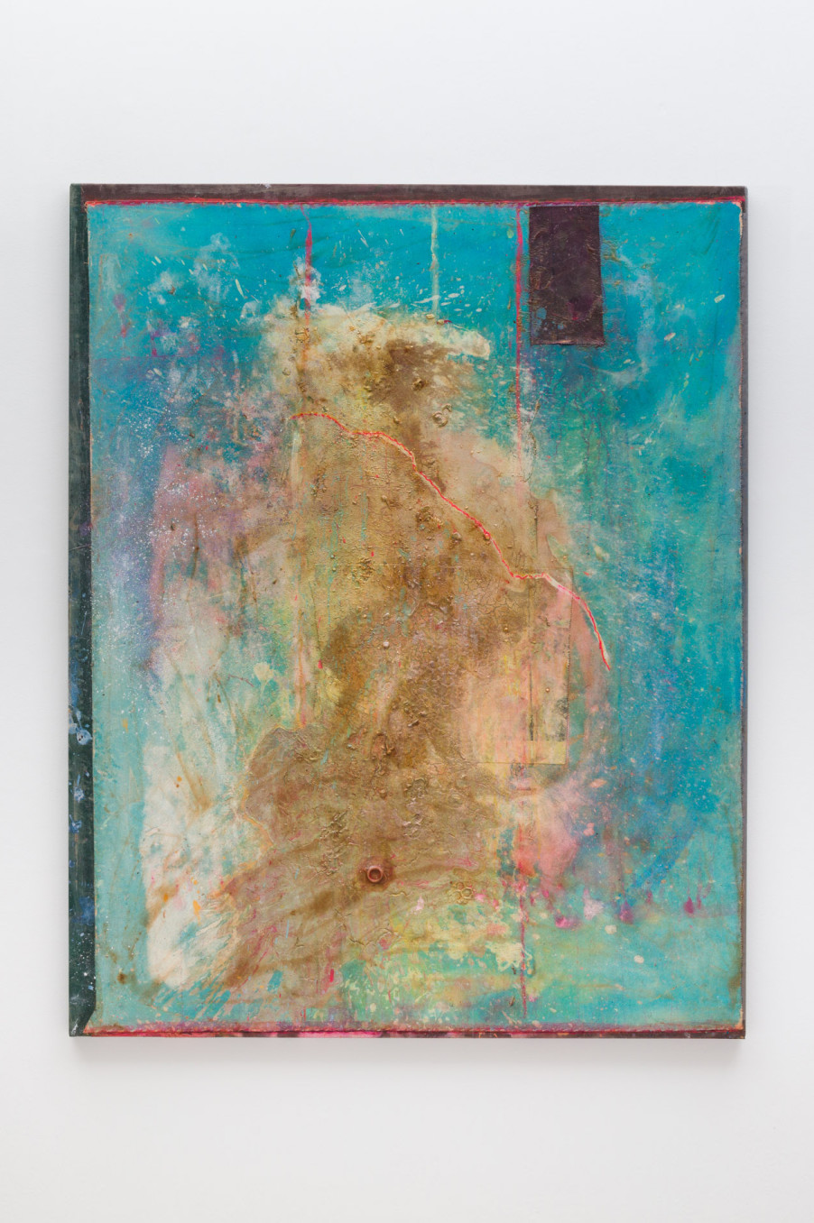 Frank Bowling, More Land than Landscape (Teenage Hulkster's Route), 2017