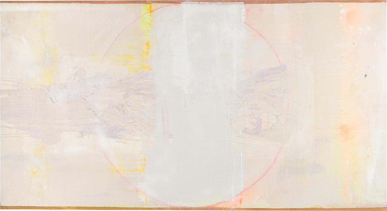 Frank Bowling, Stuart's Prediction, 2016, Acrylic on canvas, 147.5 x 271.5 cm, 58 1/8 x 106 7/8 in