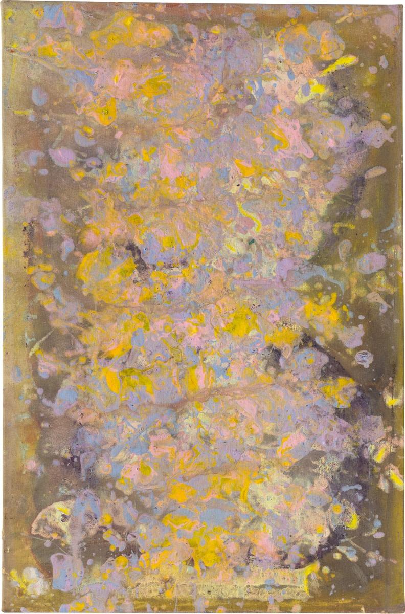 Frank Bowling Hem, 1980 Acrylic on canvas 82.4 x 54.5 cm 32 1/2 x 21 1/2 in Framed: 86 x...