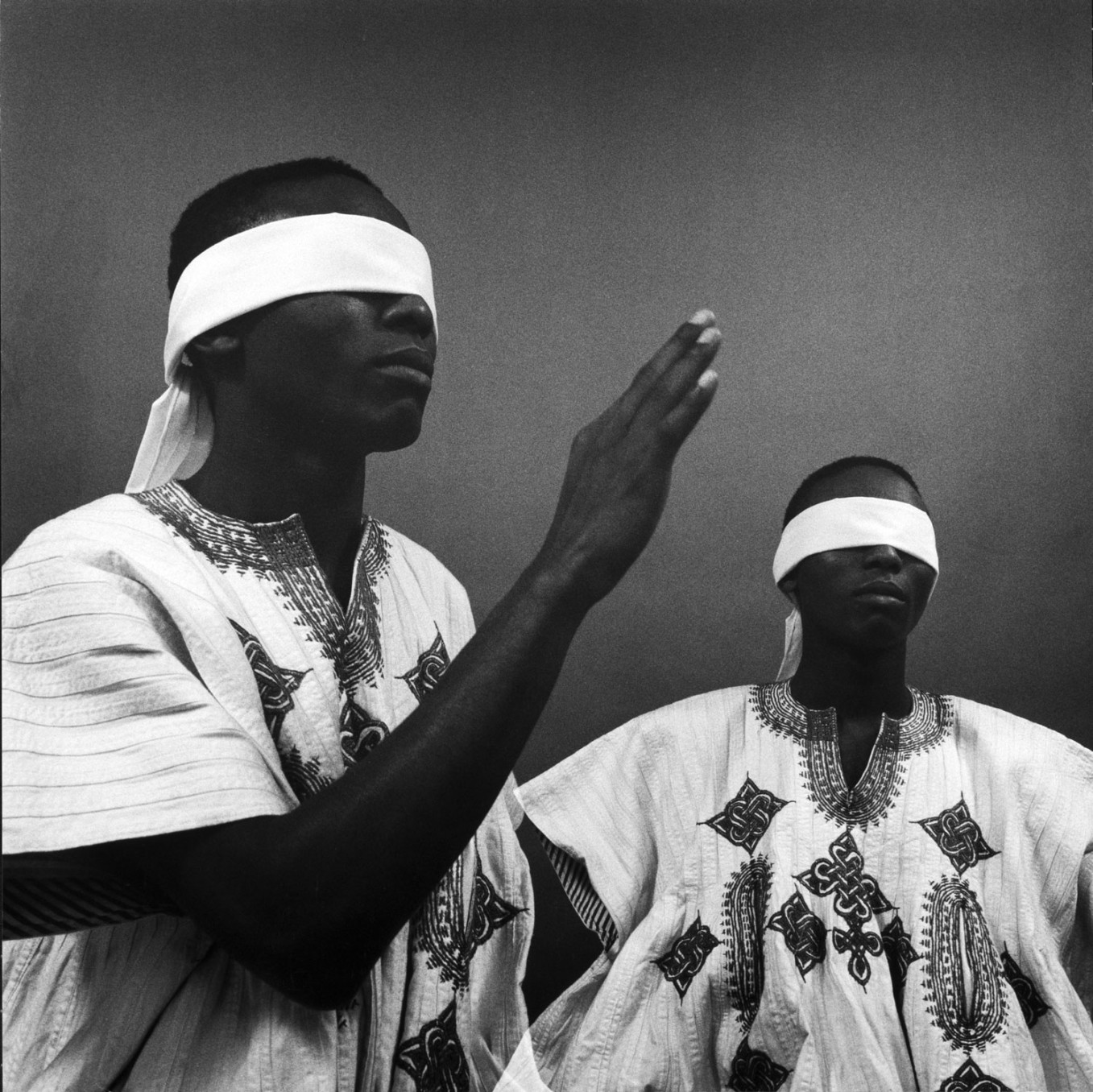 Rotimi Fani-Kayode, The Way, c. 1987-1989/2018, Gelatin silver print, 25.1 x 25.2 cm, 9 7/8 x 9 15/16 in, Framed: 44.8 x 42.2 cm, 17 5/8 x 16 5/8 in