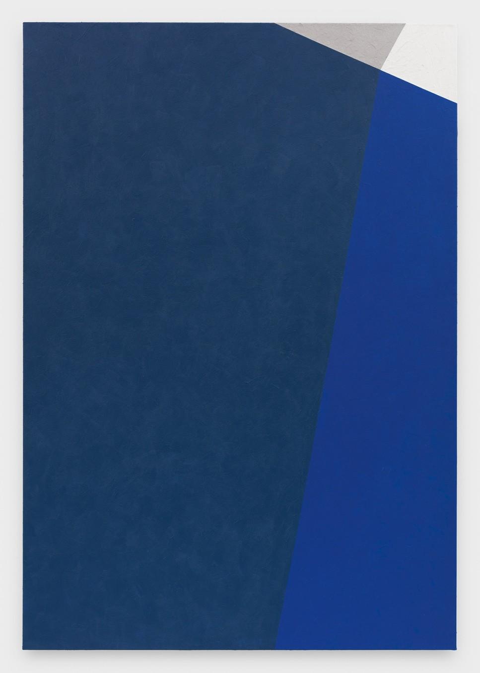 Virginia Jaramillo, Site: No. 12 38.4824° N, 22.5010° E, 2018, Acrylic on canvas, 198.1 x 137.2 cm, 78 x 54 in