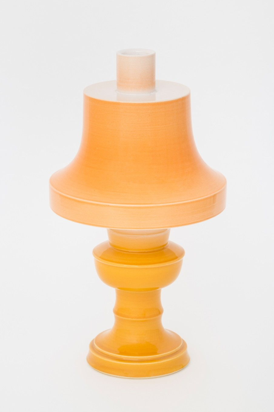 Richard Slee, Lamp, 2002, Glazed ceramic, 44 x 23 cm, 17 3/8 x 9 1/8 in
