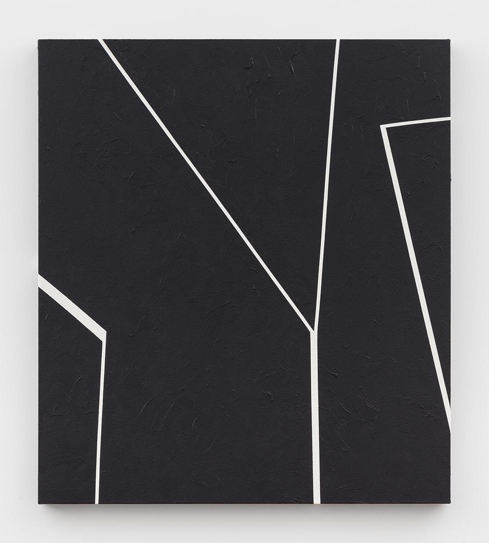 Virginia Jaramillo, Site: No. 16 31.7781° N, 35.2360° E, 2018, Acrylic on canvas, 91.4 x 81.3 cm, 36 x 32 in