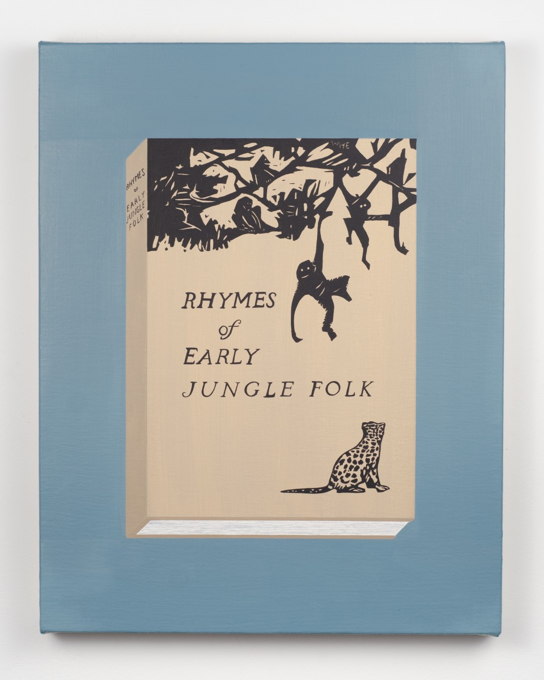 Becky Suss Rhymes of Early Jungle Folk by Mary E. Marcy (Wharton Esherick), 2018 Oil on canvas over panel 35.6...