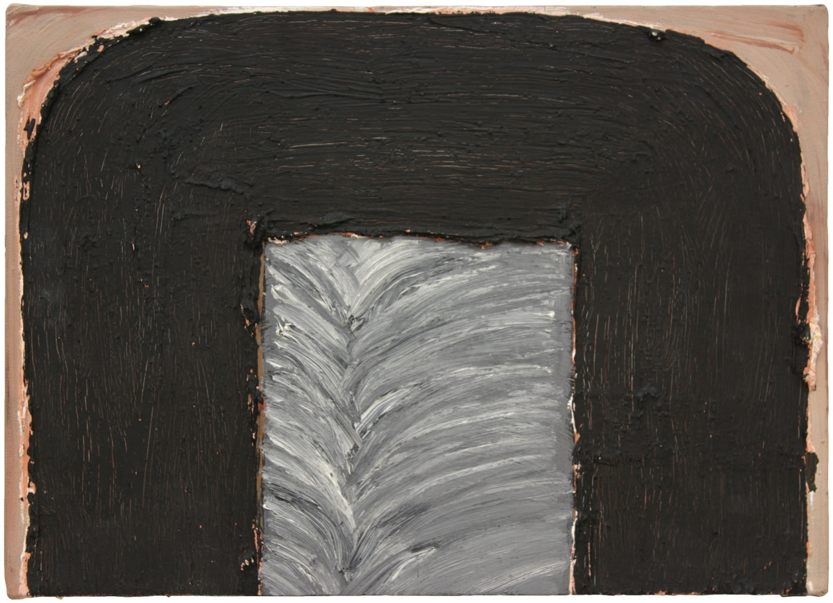 Basil Beattie, Alcove, 1996, Oil on canvas, 25 x 35 cm, 9 7/8 x 13 3/4 in