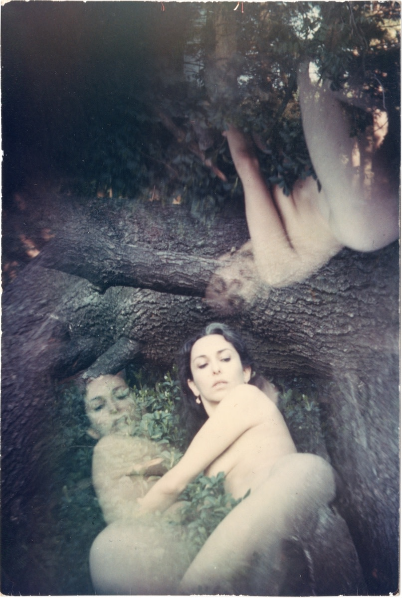 Carolee Schneemann, Water Light/Water Needle, 1966, Unique color photograph, 11.6 x 7.8 cm, 4 5/8 x 3 1/8 in, Framed: 31 x 26 x 3 cm, 12 1/4 x 10 1/4 x 1 1/8 in