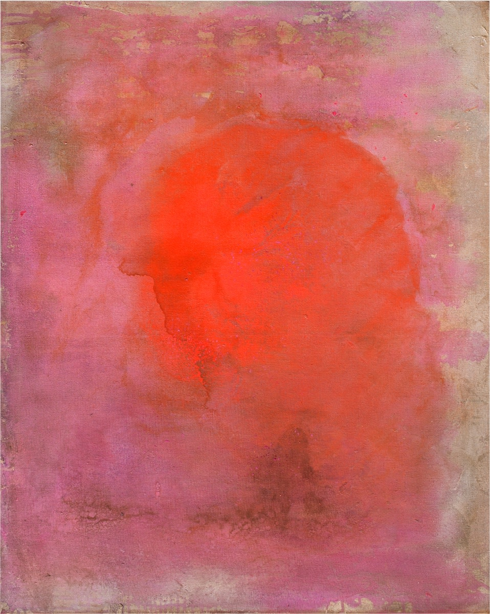 Frank Bowling, Remembering Rita, 1973, acrylic on canvas, 99 x 79 cm, 39 x 31 1/8 in