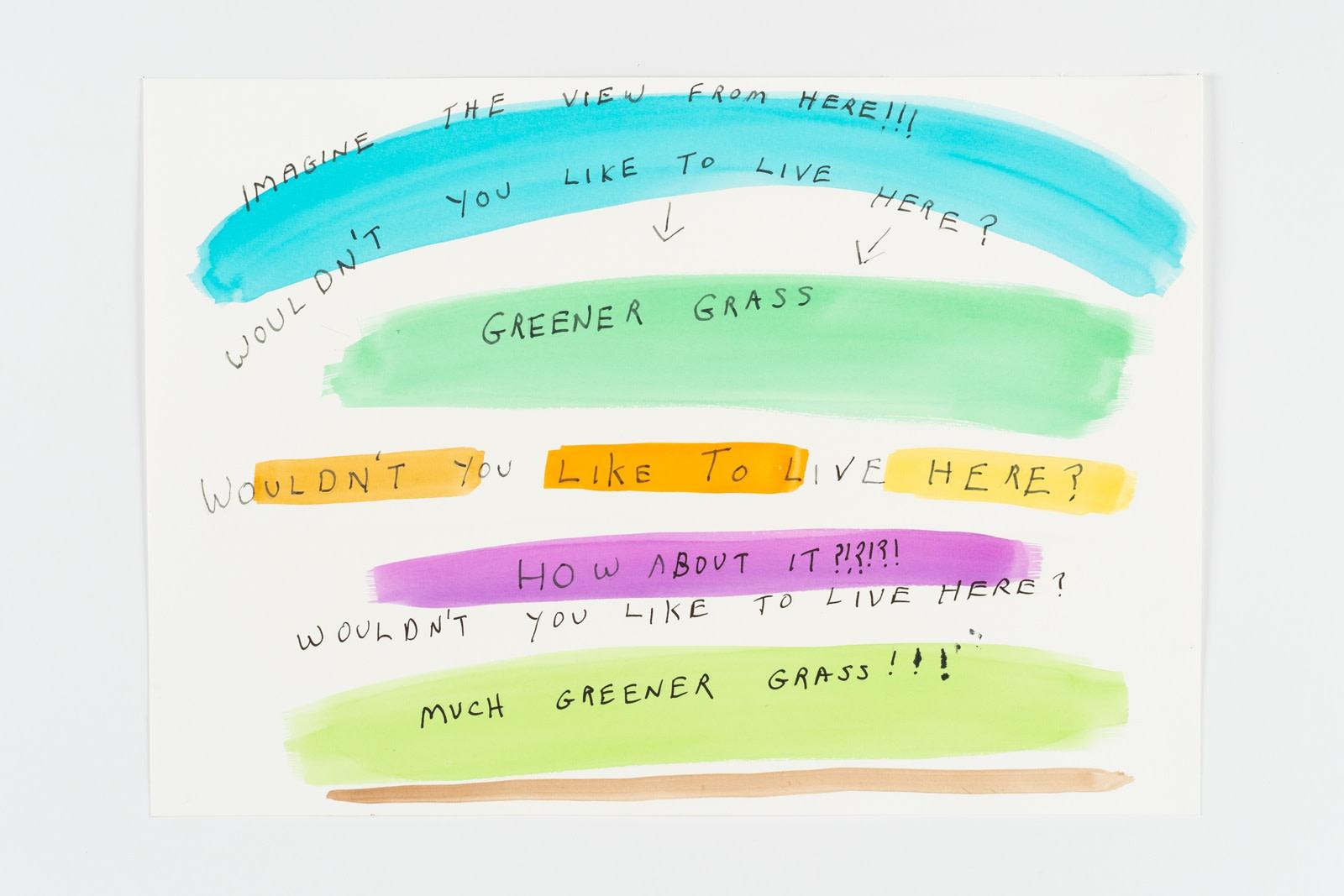 Michael Smith, Greener Grass, 2015