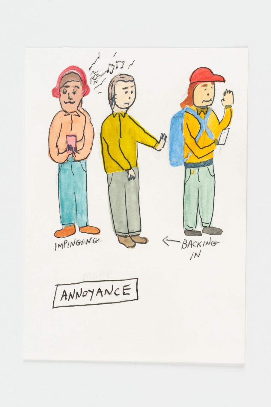 Michael Smith, Annoyance, 2015