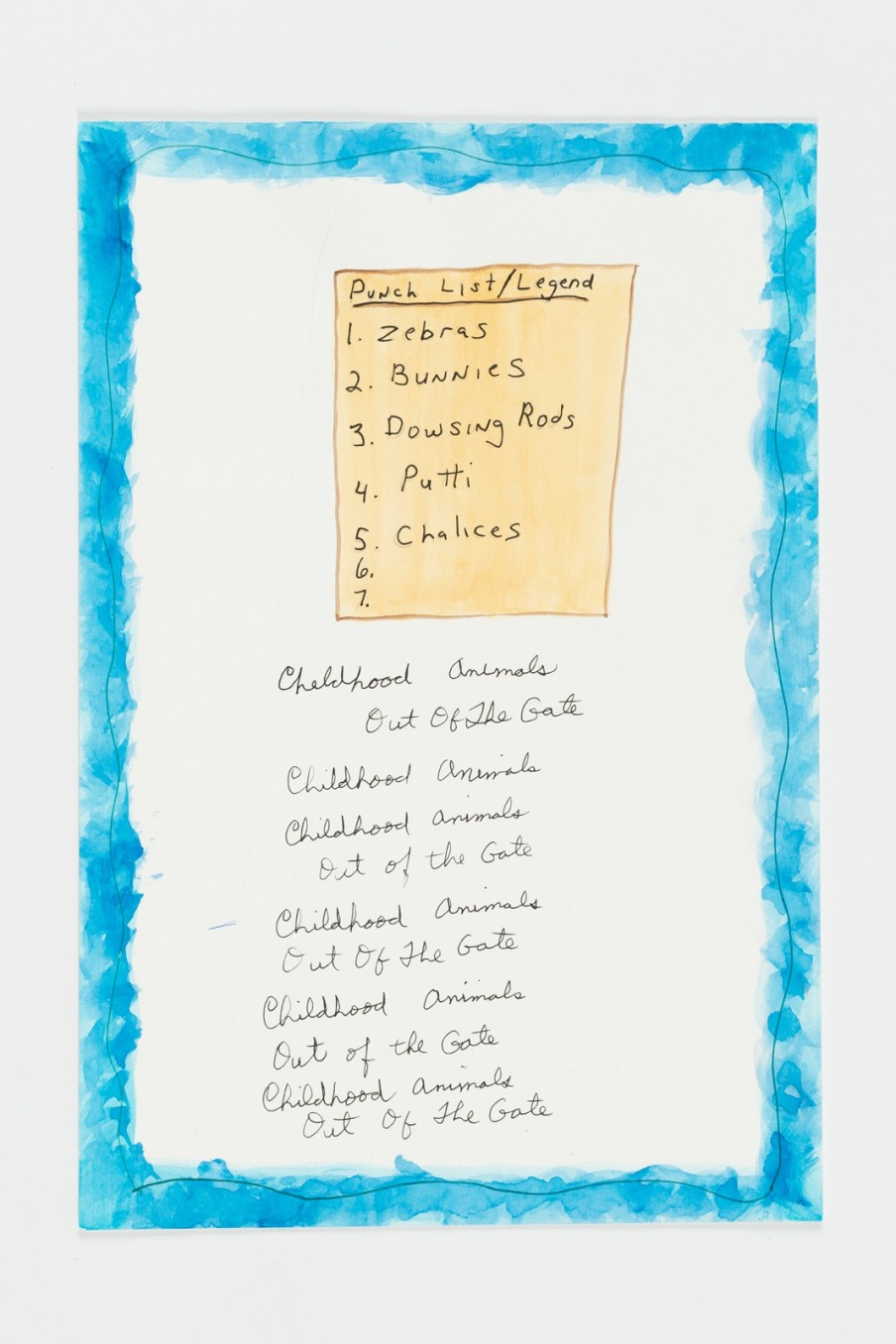 Michael Smith, Punch List, 2015