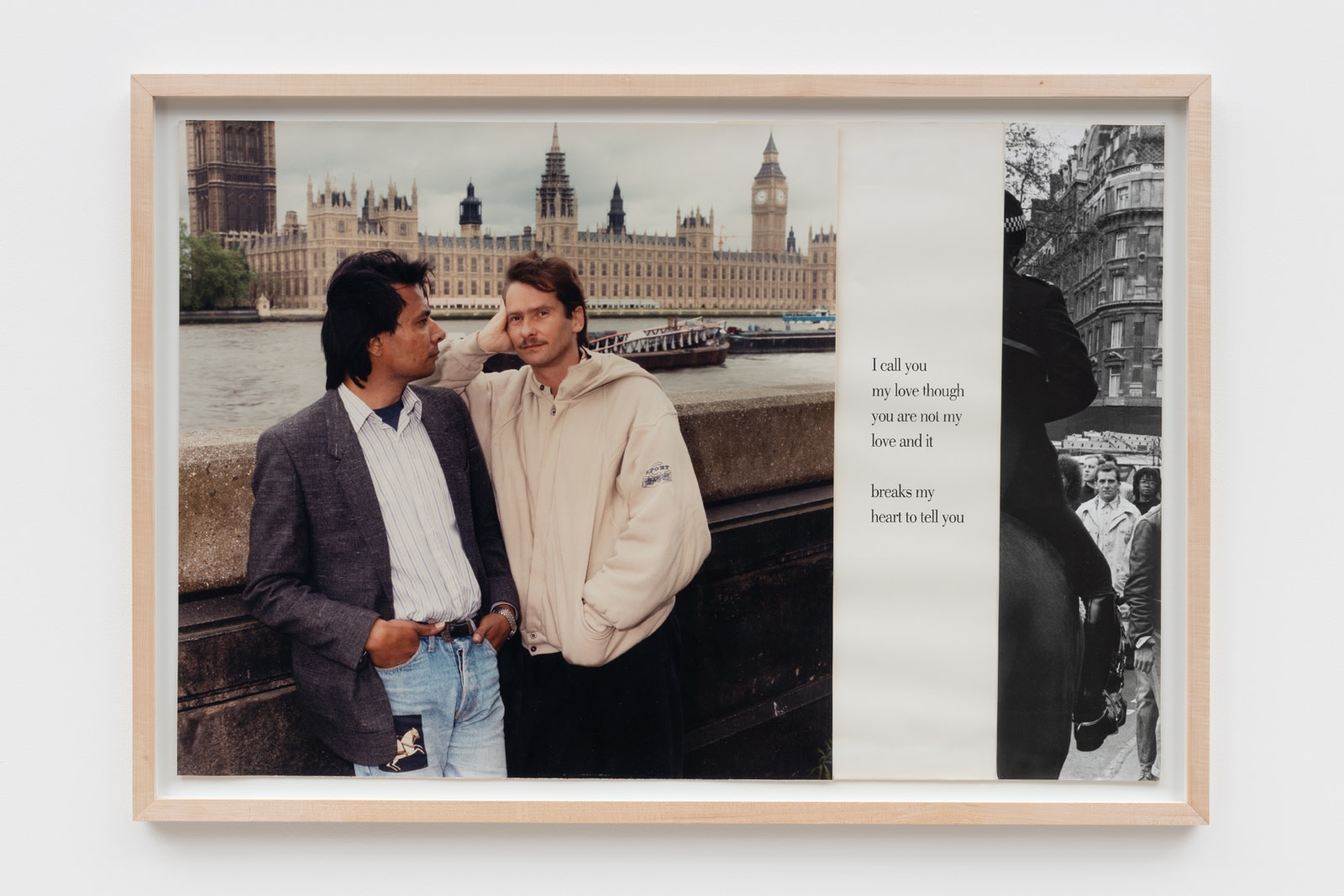 Sunil Gupta, Untitled 1 from the series 'Pretended' Family Relationships, 1988