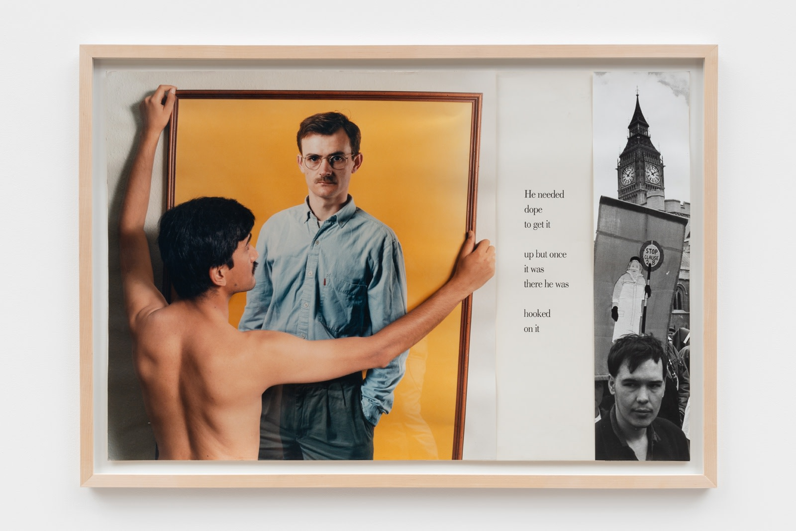 Sunil Gupta, Untitled 5 from the series 'Pretended' Family Relationships, 1988