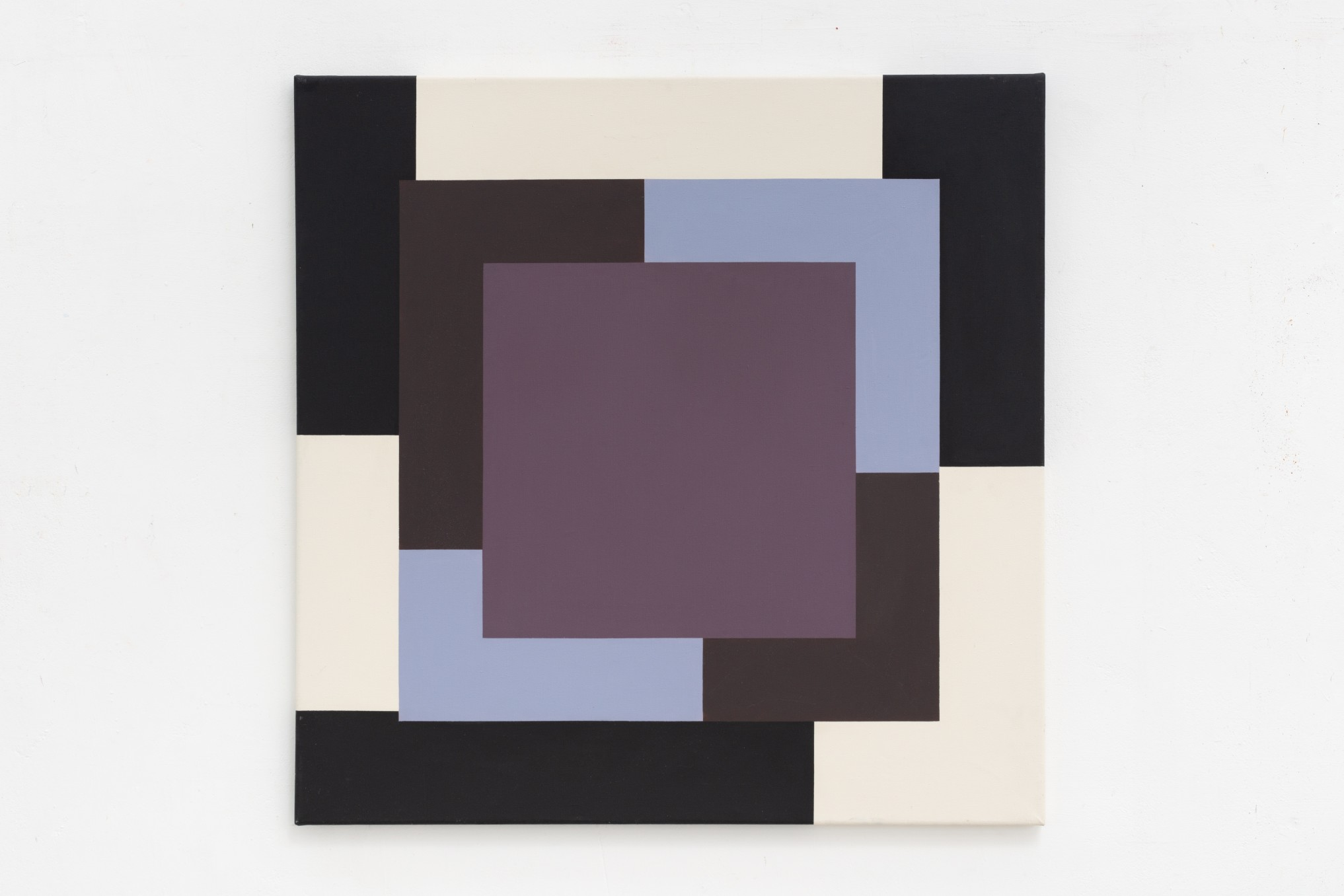 Mary Webb Extended square no. 2, 1969 Oil on canvas 91.4 x 91.4 cm 36 x 36 in