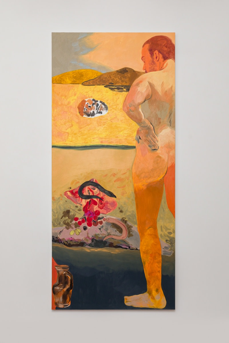 Anthony Cudahy Washed up on shore (gift from the nothing), 2021 Oil on canvas 274.3 x 121.9 cm 108 x...
