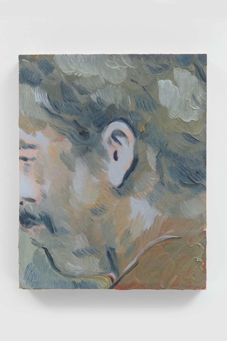 Anthony Cudahy Blue crop, 2021 Oil on panel 25.5 x 20.5 x 3.5 cm 10 1/8 x 8 1/8 x...