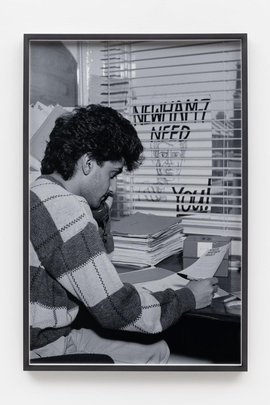 Sunil Gupta Activism, 1986/2021 Archival inkjet print Print: 90.9 x 59.5 cm 35 3/4 x 23 3/8 in
