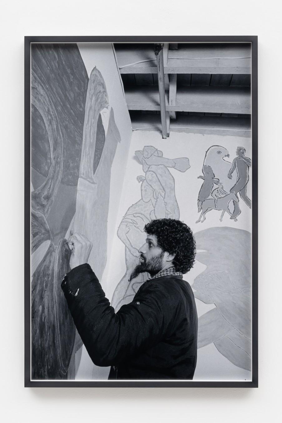 Sunil Gupta Artist, 1986/2021 Archival inkjet print Print: 90.9 x 59.5 cm 35 3/4 x 23 3/8 in