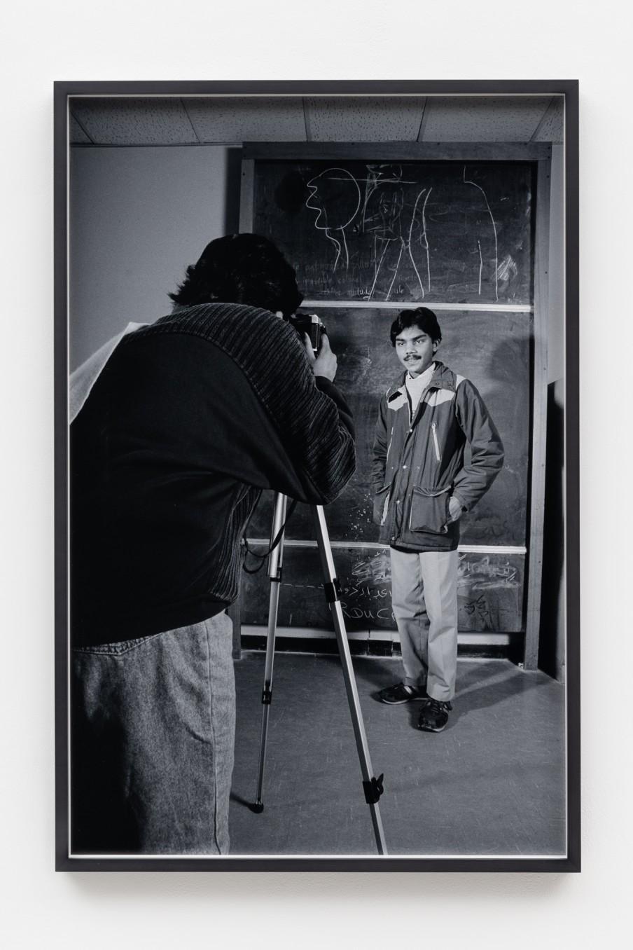 Sunil Gupta Education, 1986/2021 Archival inkjet print Print: 90.9 x 59.5 cm 35 3/4 x 23 3/8 in