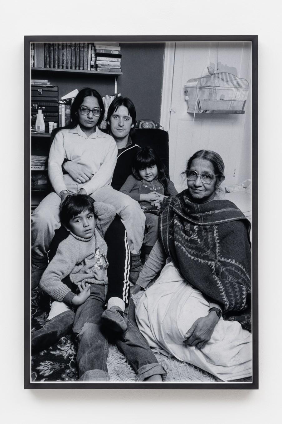 Sunil Gupta Family, 1986/2021 Archival inkjet print Print: 90.9 x 59.5 cm 35 3/4 x 23 3/8 in